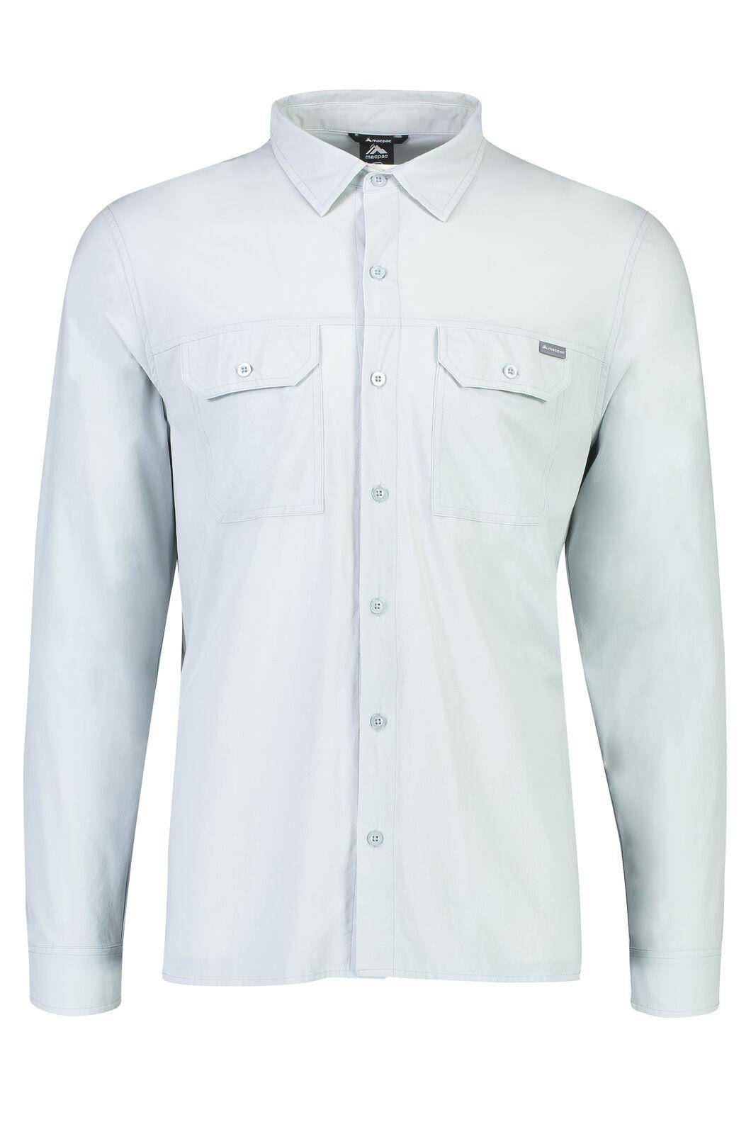 Macpac Eclipse Long Sleeve Shirt - Men's, Pearl, hi-res