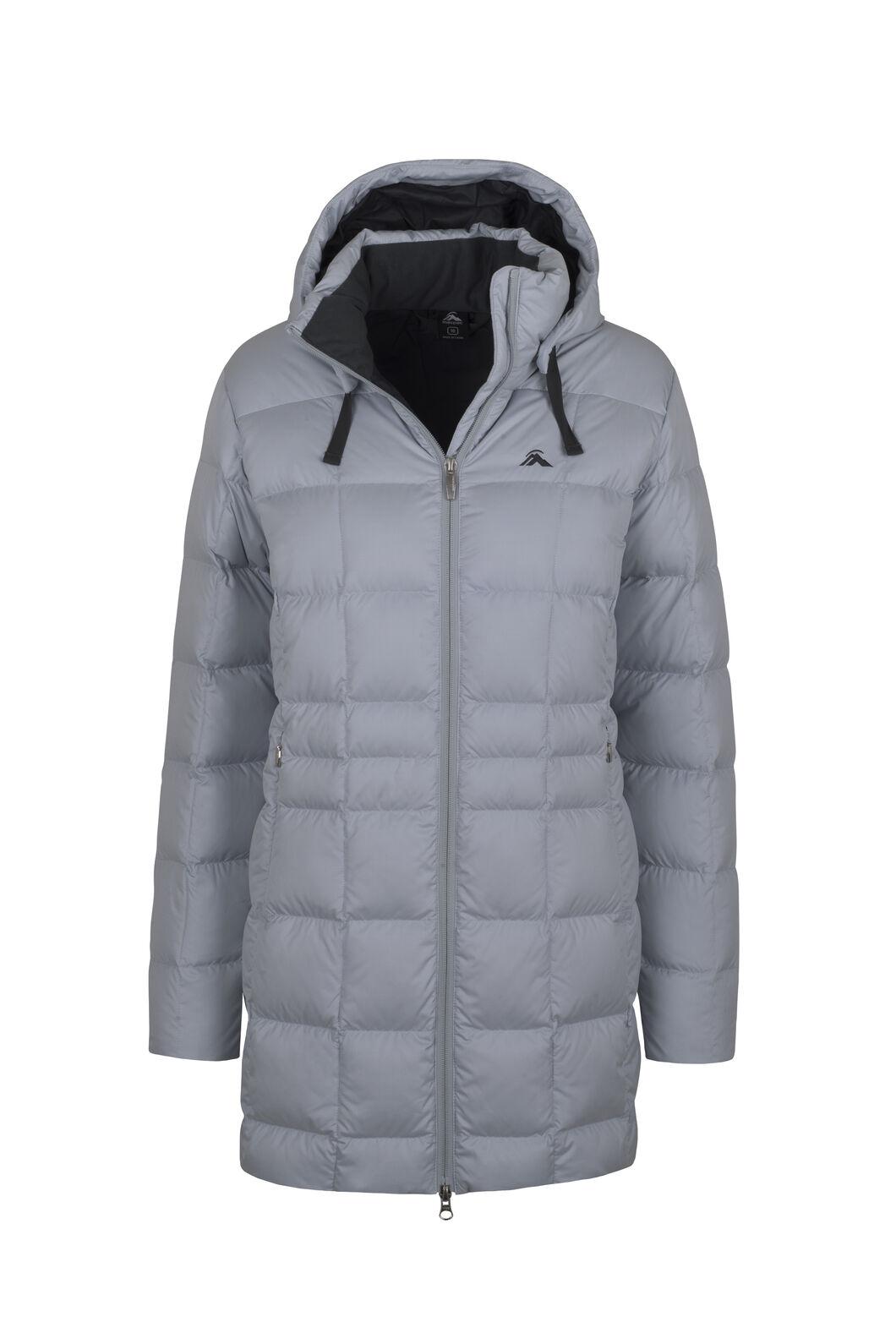 Macpac Aurora Down Coat V3 - Women's, Pearl Blue, hi-res