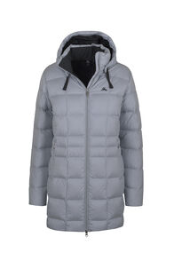 Macpac Aurora Down Coat V3 - Women's, Pearl Blue, hi-res