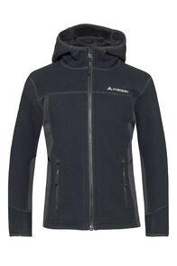 Macpac Mini Mountain Hooded Jacket — Kids', Black, hi-res