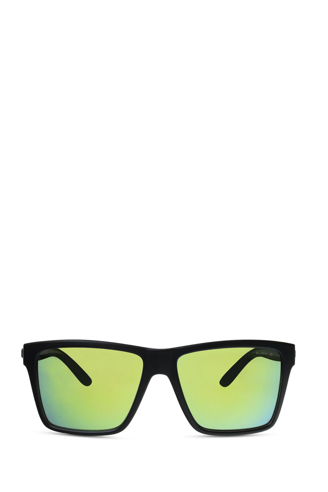 Liive Vision Bazza Mirror Sunglasses, Matt Black Xtal Black, hi-res