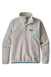 Patagonia W's LW  Snap-T Pullover , Oatmeal Heather, hi-res