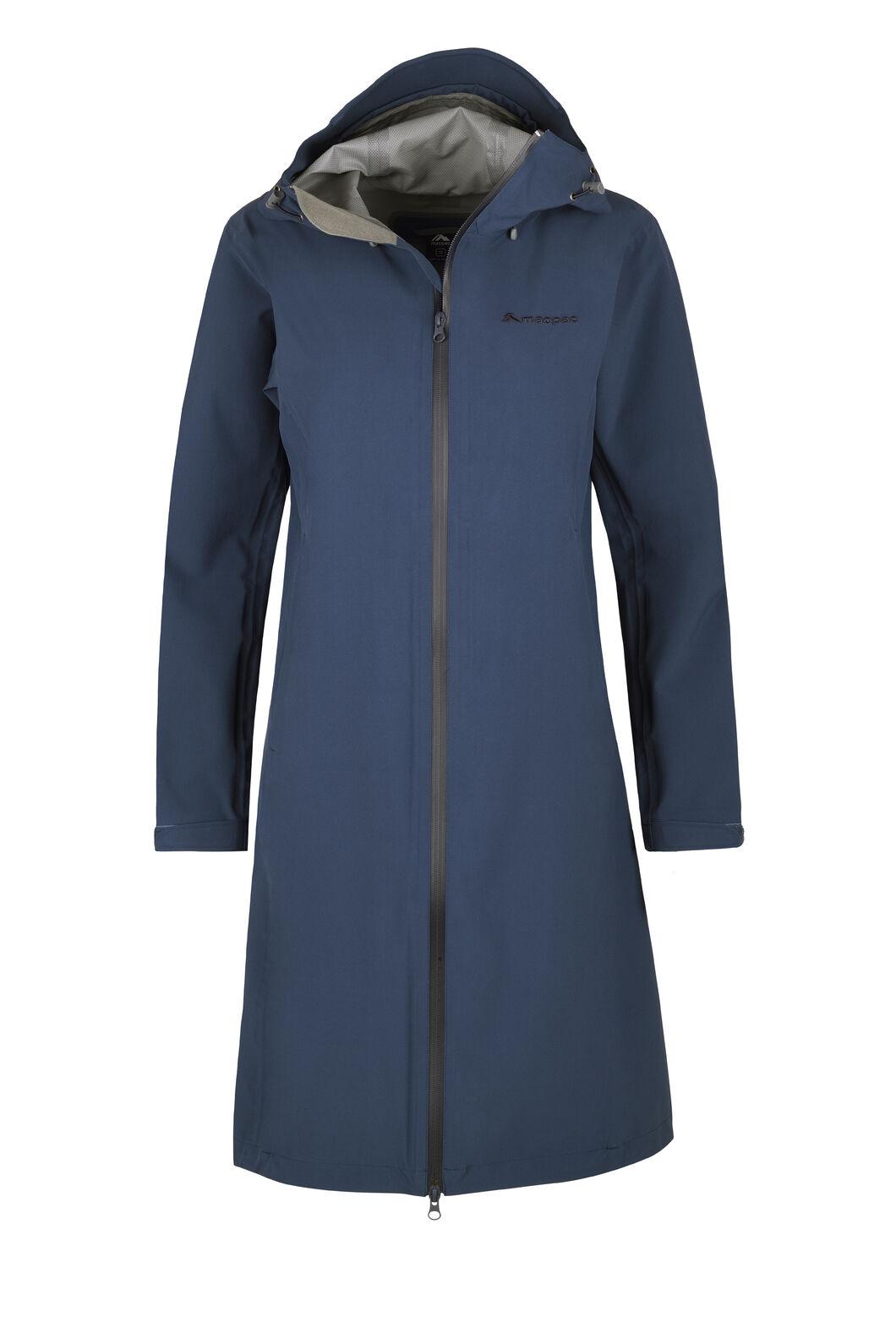 Macpac Dispatch Rain Coat — Women's, Black Iris, hi-res