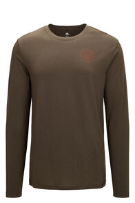 Macpac Since 1973 180 Merino Long Sleeve Tee — Men's, Olive Night, hi-res