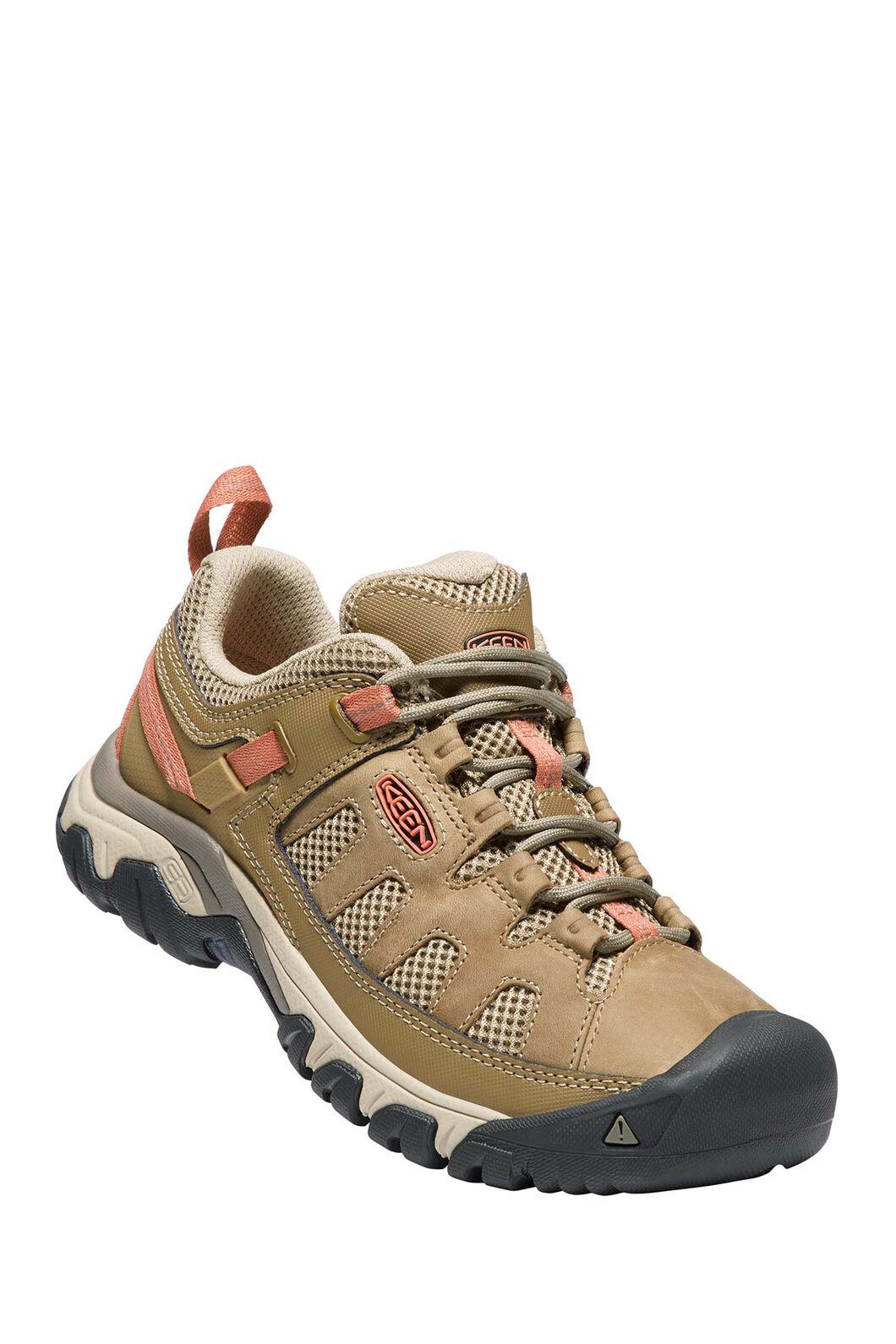 KEEN Targhee Vent Hiking Shoes — Women's, Sandy Cornstalk, hi-res