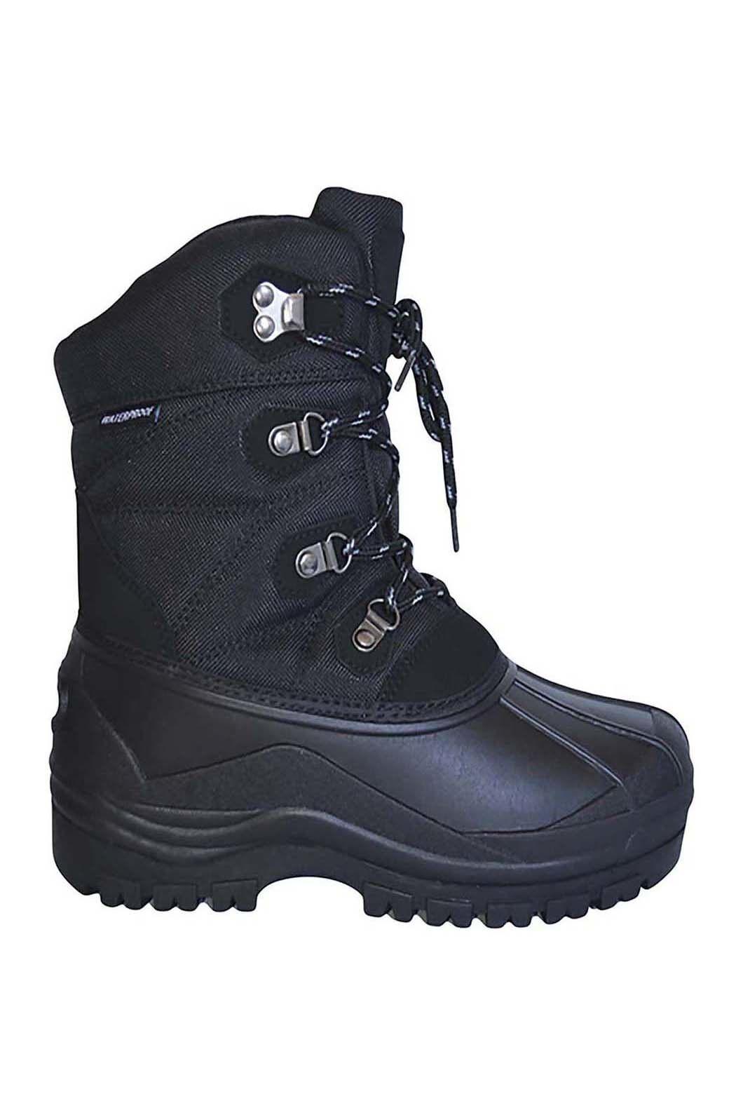 XTM Men's Bolt Snow Boots, Black, hi-res