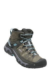 Keen Targhee III WP Hiking Boots — Women's, Alcatraz/Blue Turquoise, hi-res