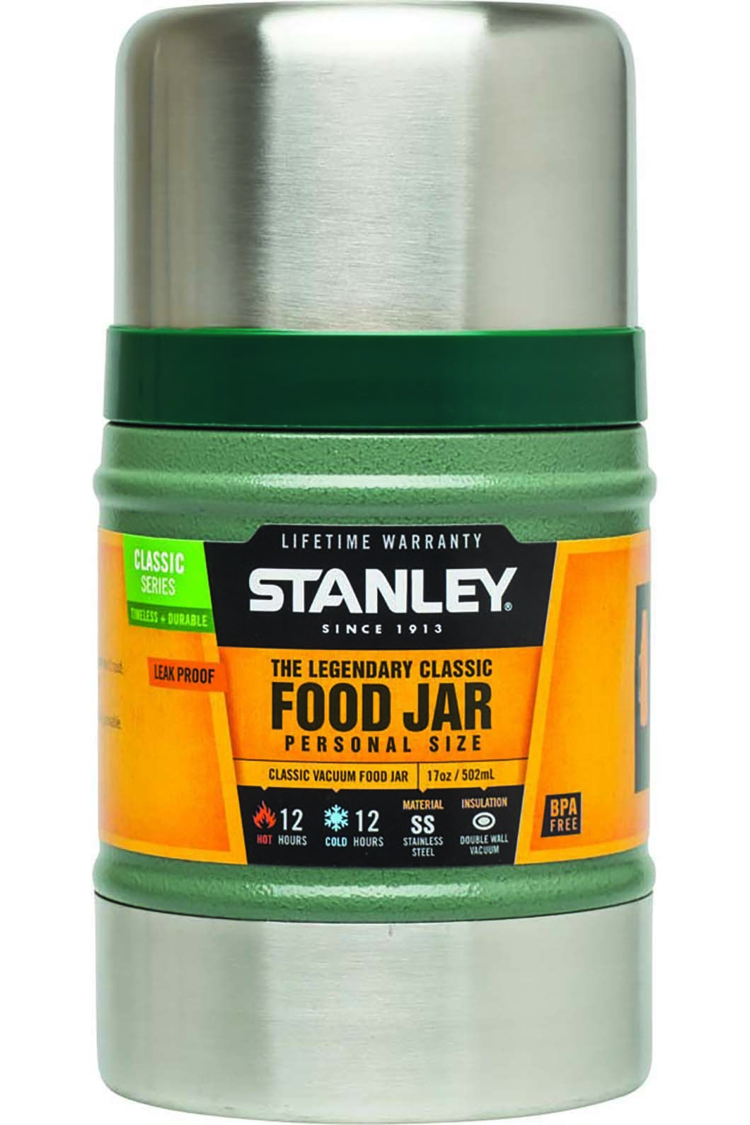 Stanley 502mL Classic Vacuum Food Jar, None, hi-res