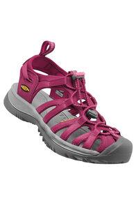 Keen Whisper Sandals — Women's, Beet Red/Honeysuckle, hi-res
