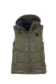 Macpac Prism Hooded Vest - Women's, Grape Leaf, hi-res