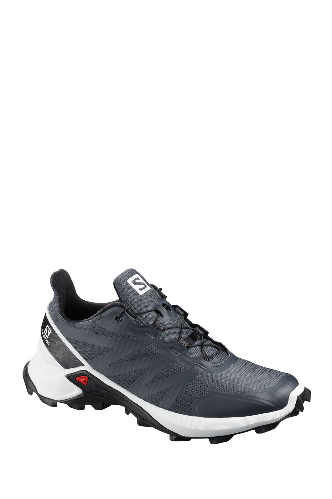 Salomon Supercross Trail Running Shoes — Women's, India Ink/White Black, hi-res