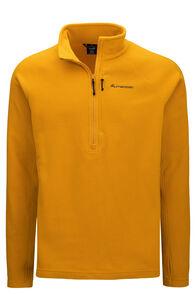 Macpac Men's Tui Polartec® Micro Fleece® Pullover, Arrowwood, hi-res