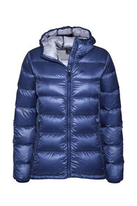 Macpac Jupiter Hooded Down Jacket — Women's, Marlin, hi-res