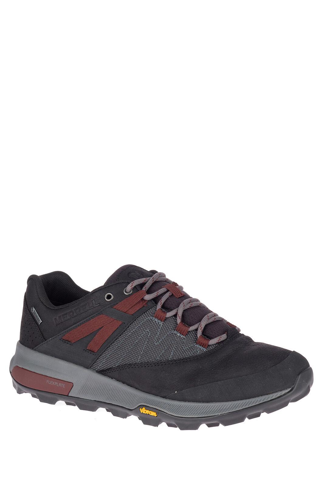 Merrell Men's Zion GTX WP Hiking Shoes, Black, hi-res