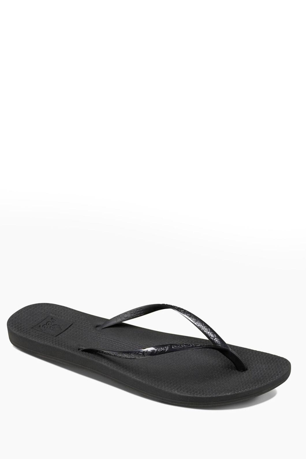 Reef Escape Lux Sandals — Women's, Black, hi-res