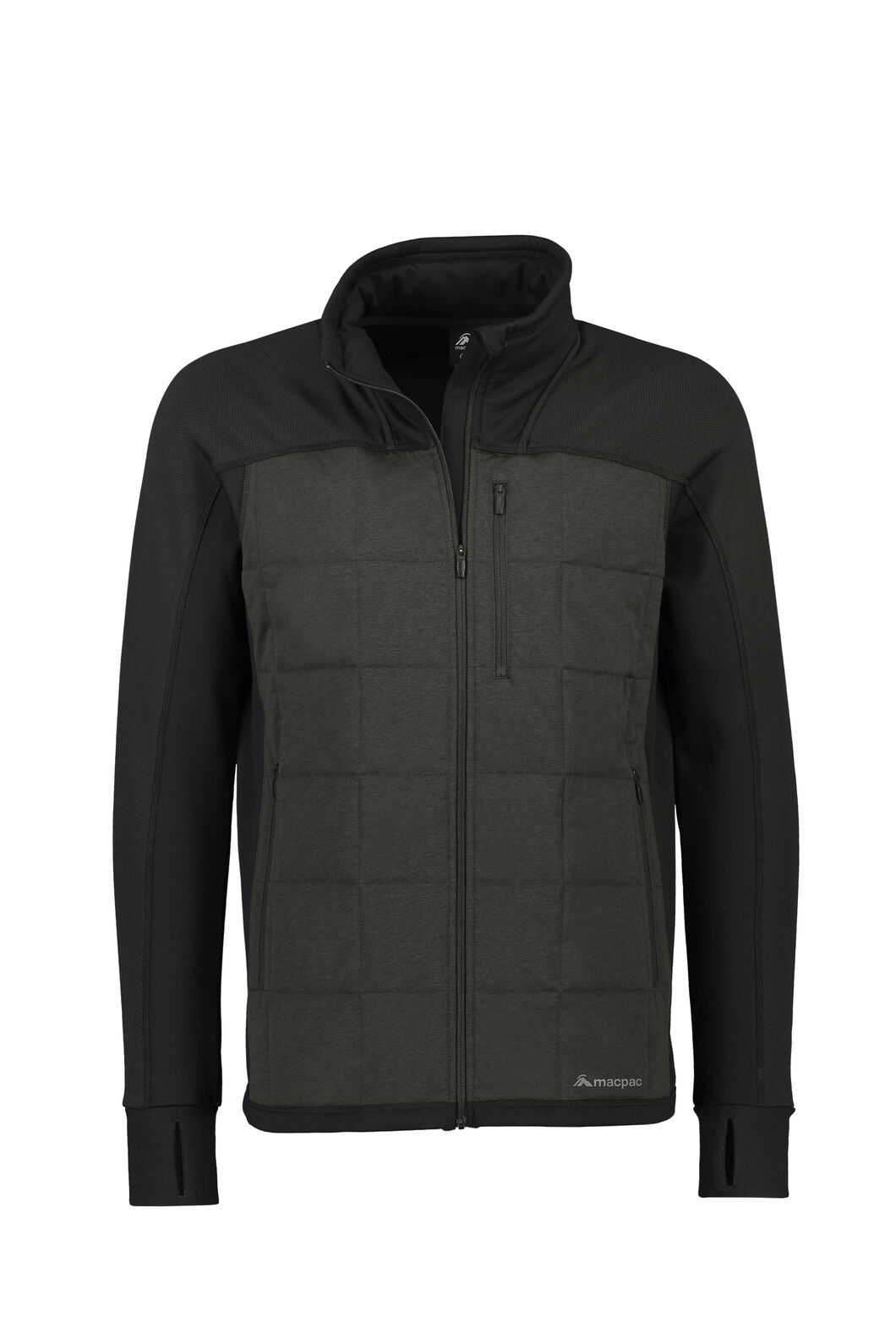 Macpac Accelerate PrimaLoft® Fleece Jacket — Men's, Black, hi-res