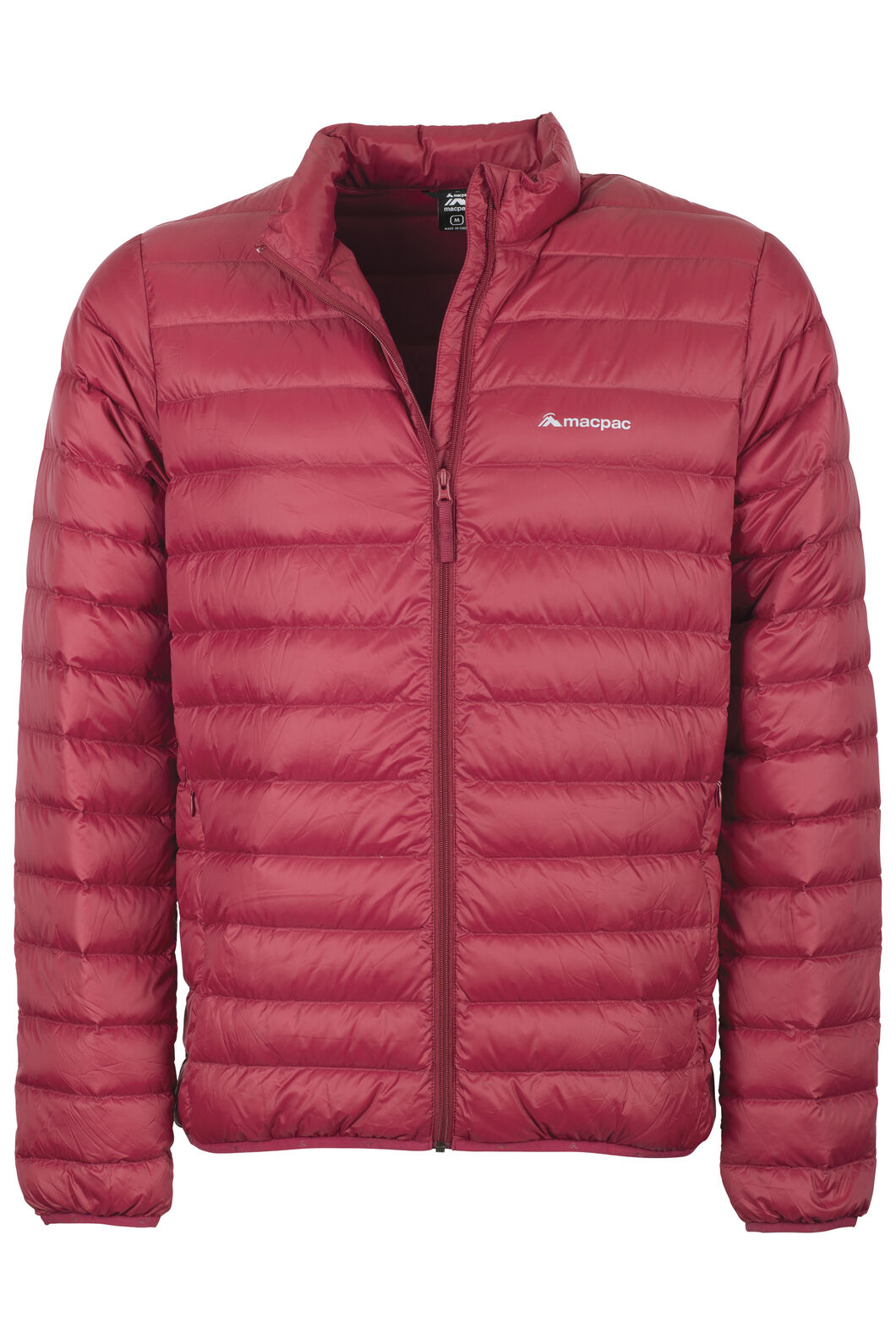 Macpac Uber Light Down Jacket - Men's, Biking Red, hi-res