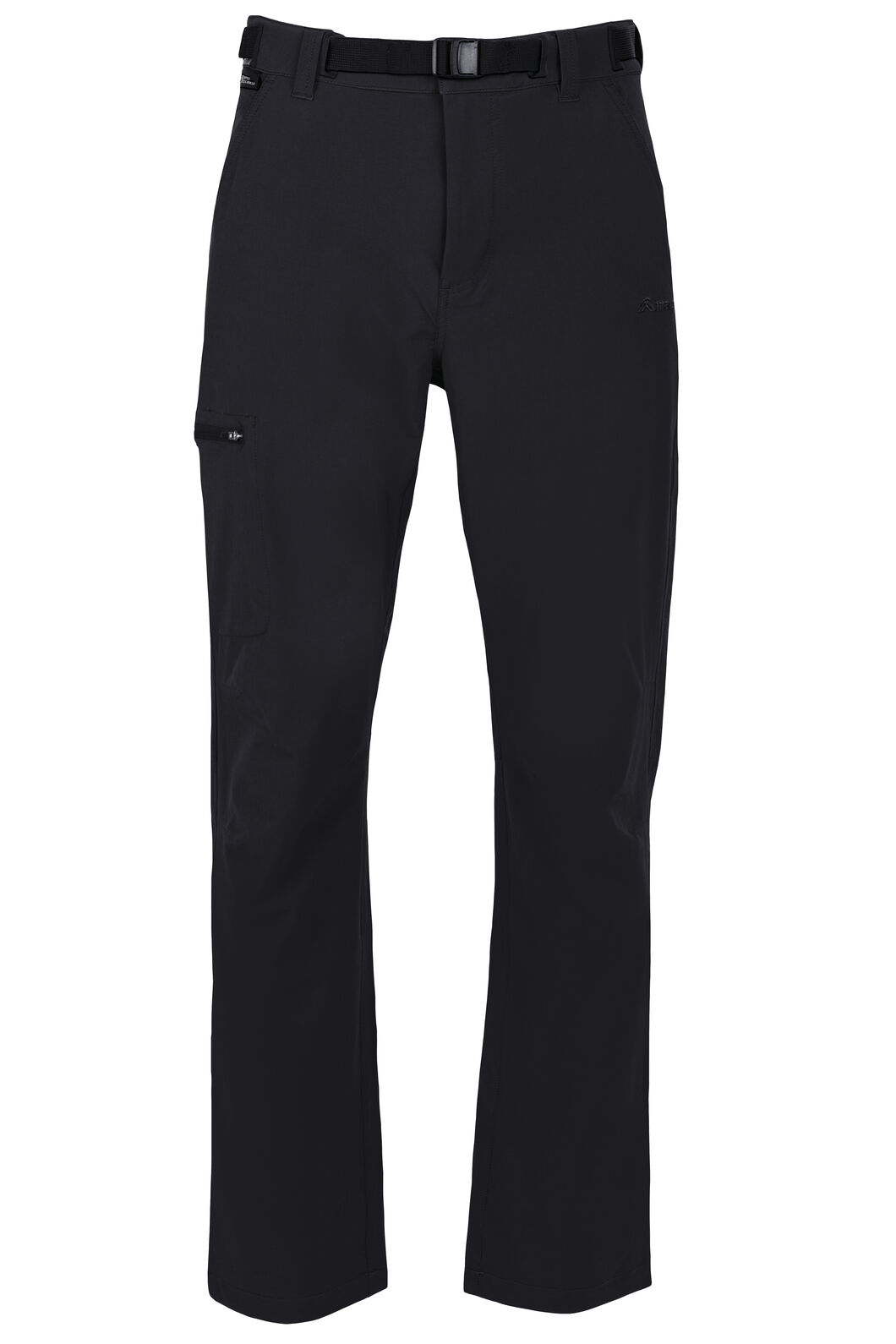 Macpac Trekker Pertex® Equilibrium Softshell Pants — Men's, Black, hi-res
