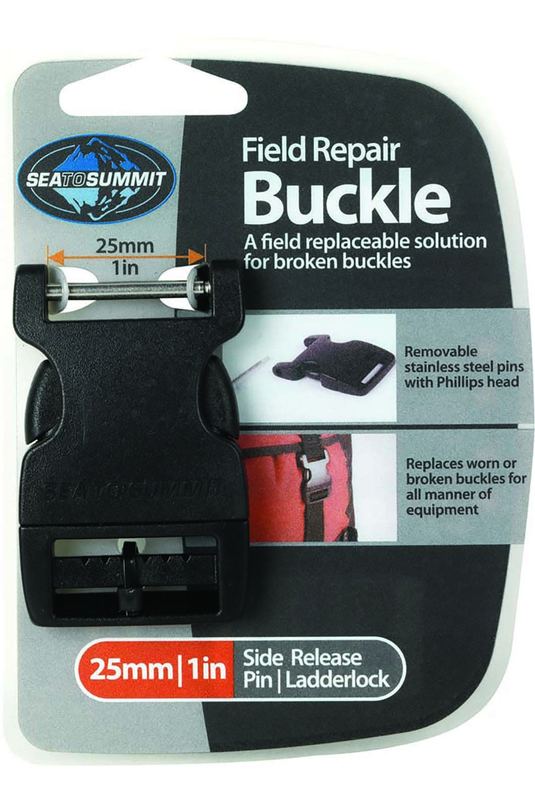 Sea to Summit Field Repair Buckle 20mm Side Release 2 Pin, None, hi-res