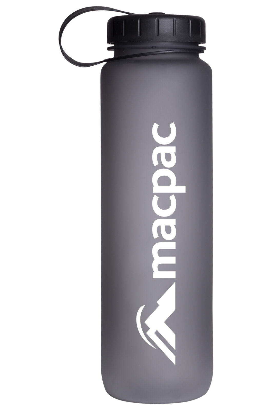 Macpac Soft Touch Water Bottle — 1L, Grey, hi-res