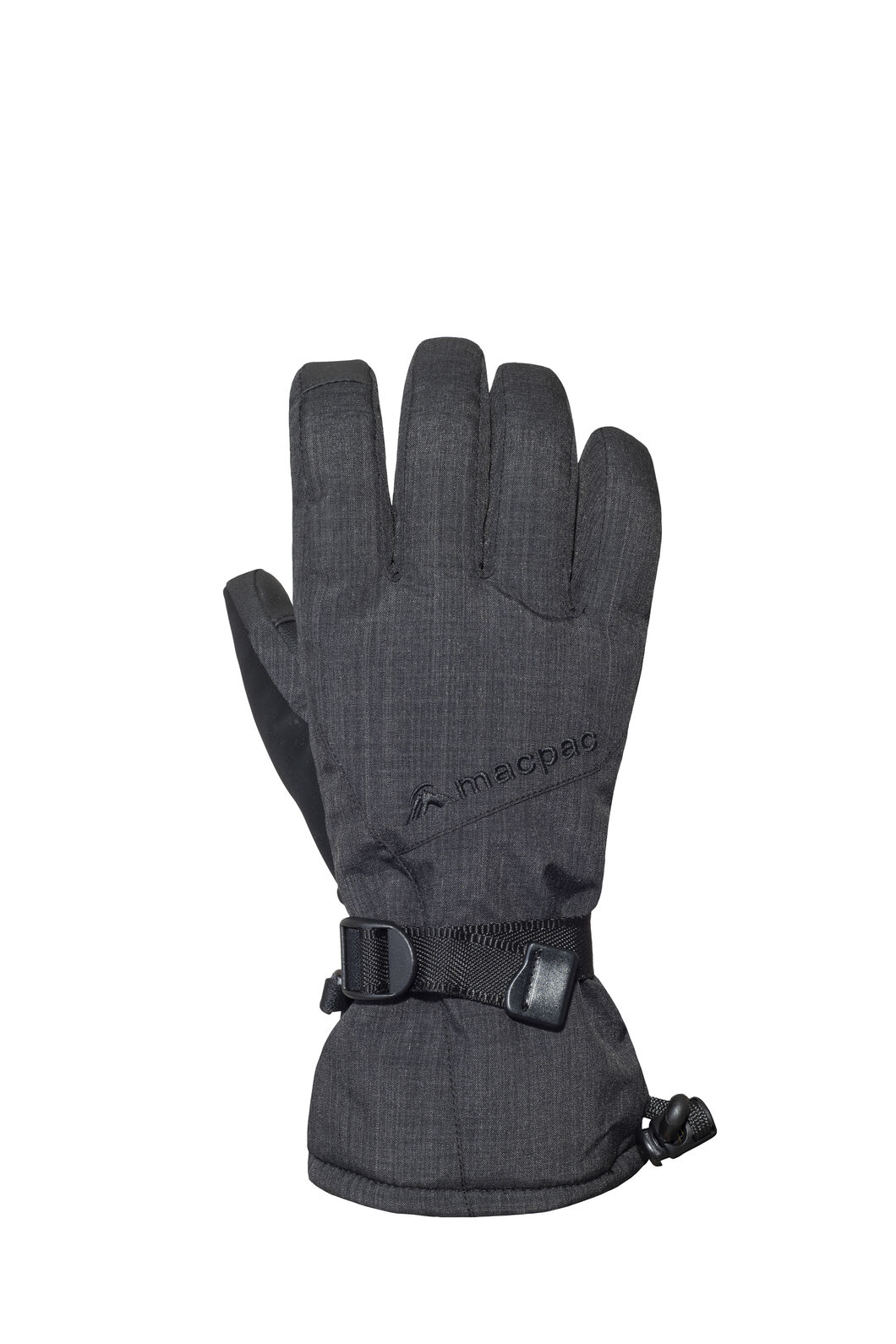 Macpac Carve Gloves, Black, hi-res