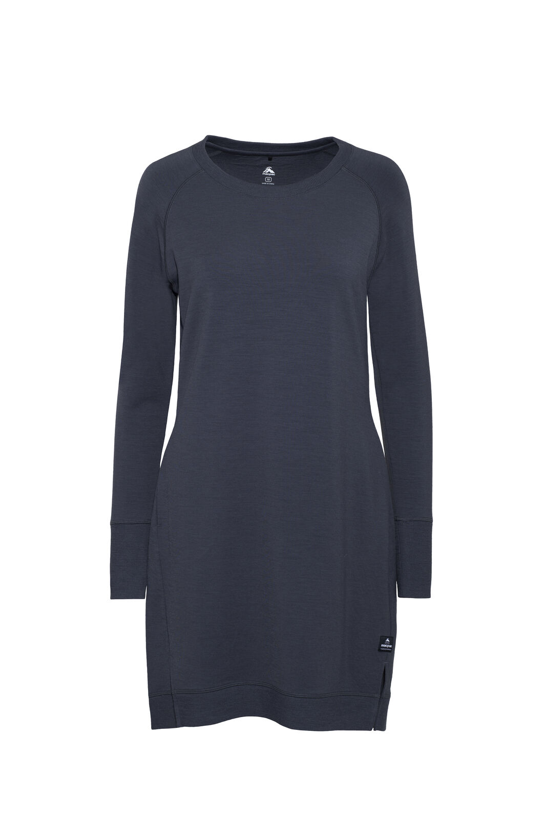 Macpac Platform Merino Dress — Women's, India Ink, hi-res