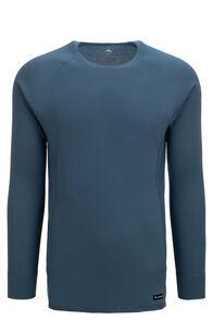 Macpac Men's Geothermal Long Sleeve Top, Real Teal, hi-res