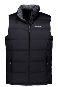 Macpac Men's Halo Down Vest, Black, hi-res