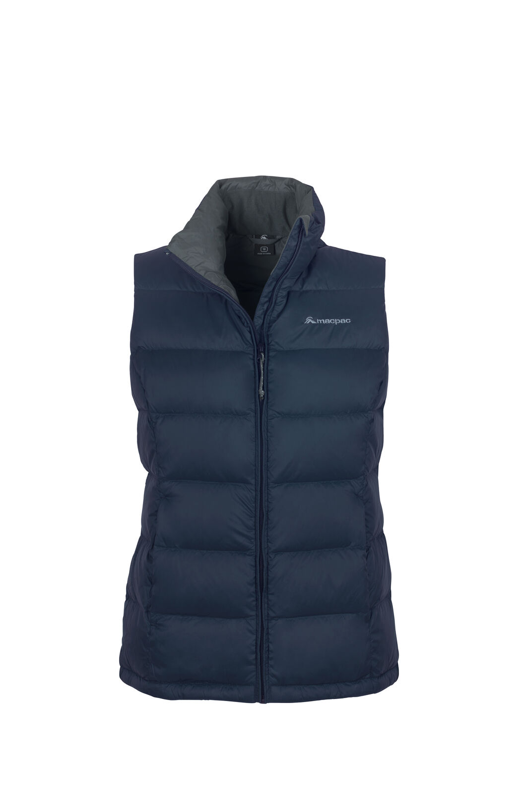 Macpac Halo Down Vest - Women's, Black Iris, hi-res