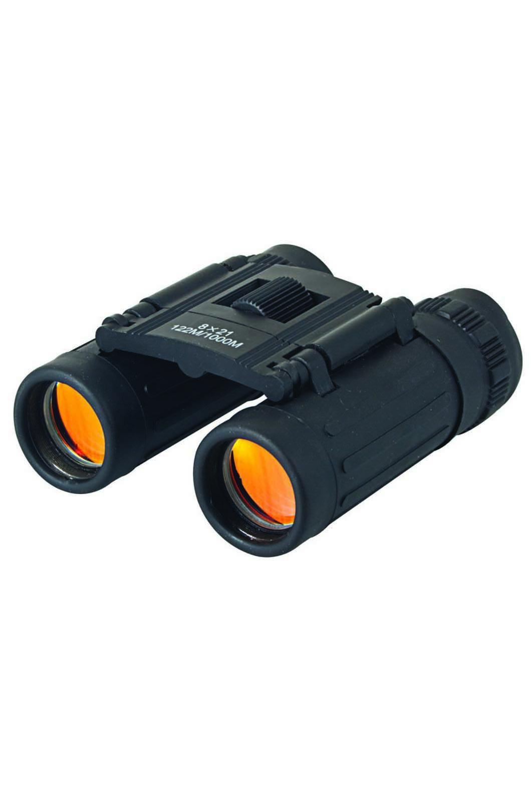 Compact Ruby Lens Binoculars 8x21, None, hi-res