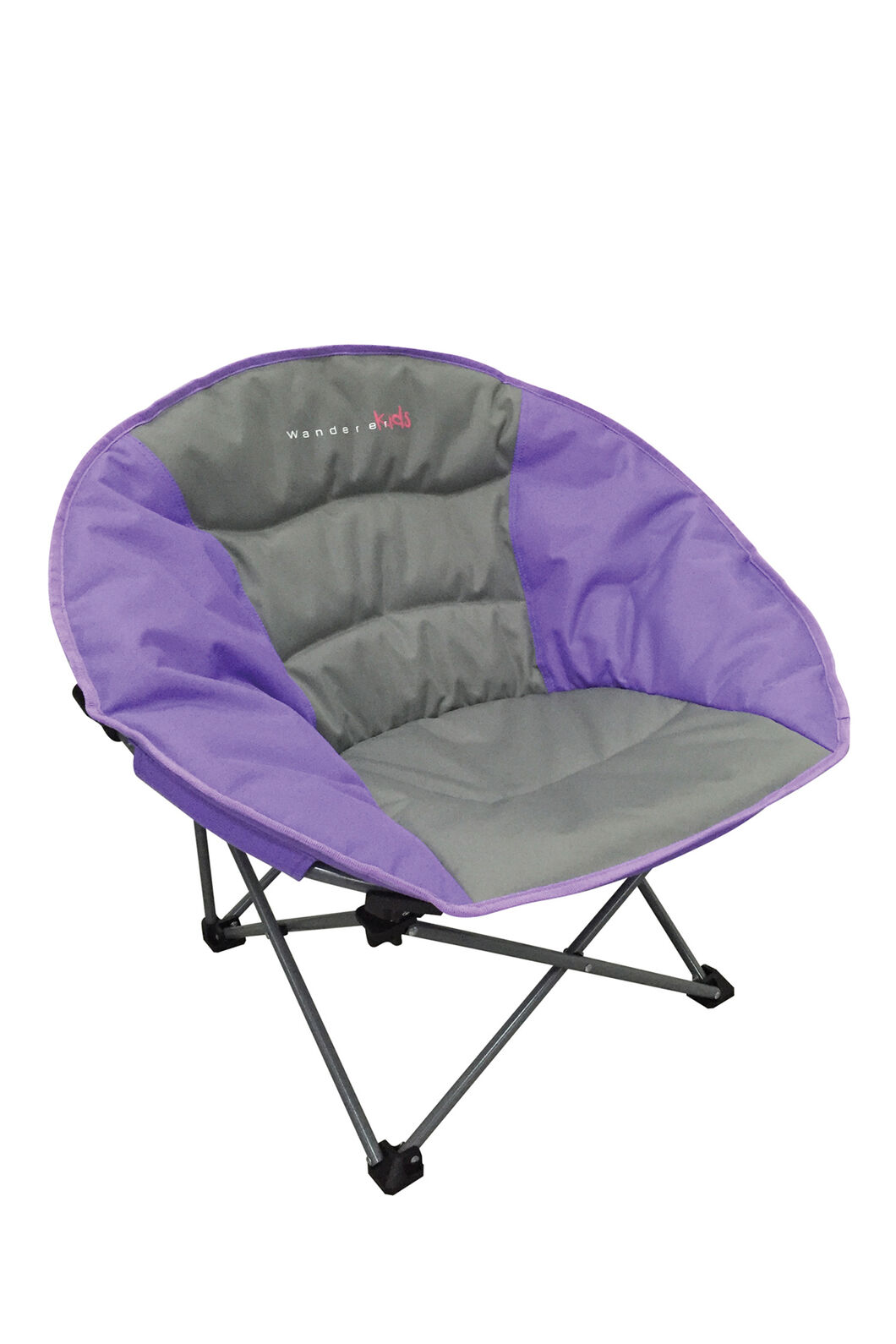 Wanderer Kids' Moon Quad Fold Chair, Purple, hi-res