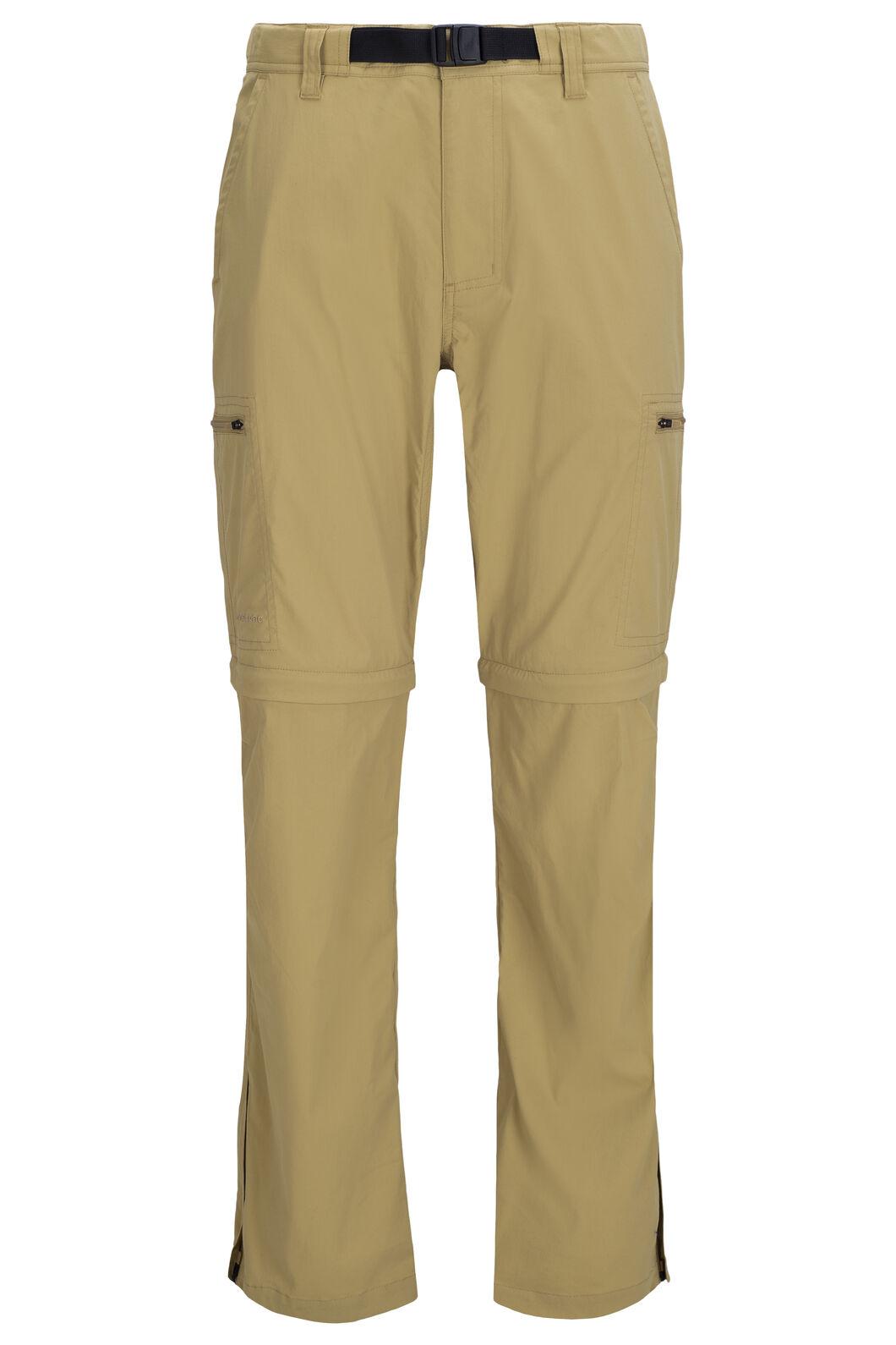 Macpac Rockover Convertible Pants — Men's, Khaki, hi-res