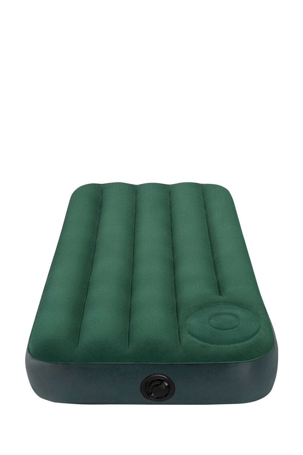 Intex Single Downy Air Bed with Foot Pump, None, hi-res