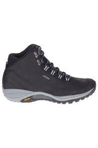 Merrell Siren Traveller 3 Mid Waterproof Hiking Boots — Women's, Black/Monument, hi-res