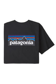 Patagonia Men's P-6 Logo Responsibili-Tee®, Black, hi-res