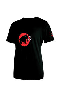 Mammut Logo T-Shirt — Men's, Black, hi-res