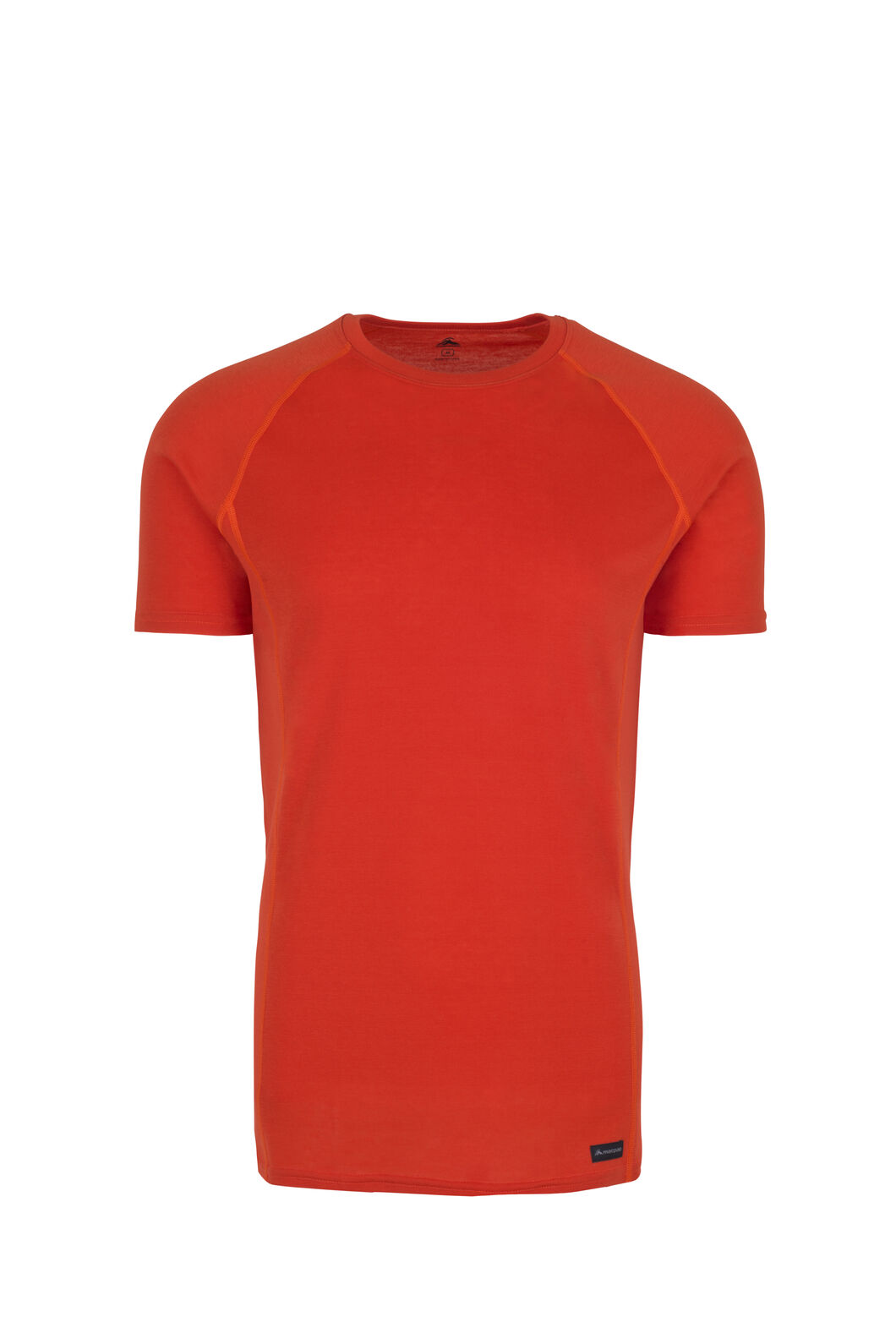 Macpac Geothermal Short Sleeve Top - Men's, Spicy Orange, hi-res