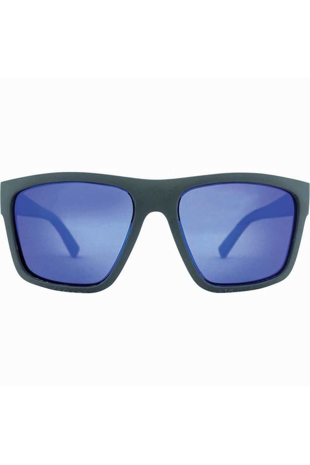 Venture Eyewear Men's The Edge Sunglasses, Black/Blue, hi-res