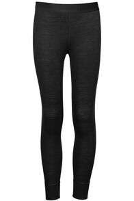220 Merino Long Johns - Kids', Black, hi-res