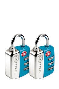 Go Travel Twin Travel Sentry Lock Set, None, hi-res