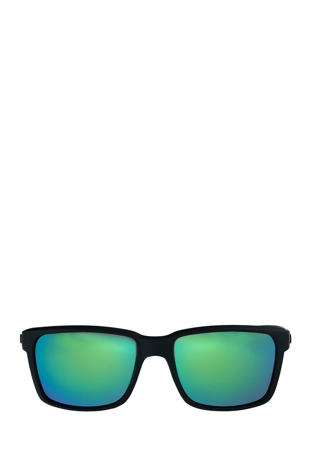 Liive Vision Moto Polarised Mirror Sunglasses, Matt Black, hi-res