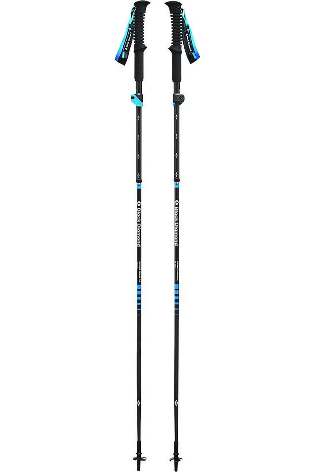 Black Diamond Distance FLZ Trekking Pole 125cm, None, hi-res