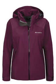 Macpac Traverse Pertex® Rain Jacket — Women's, Amaranth, hi-res