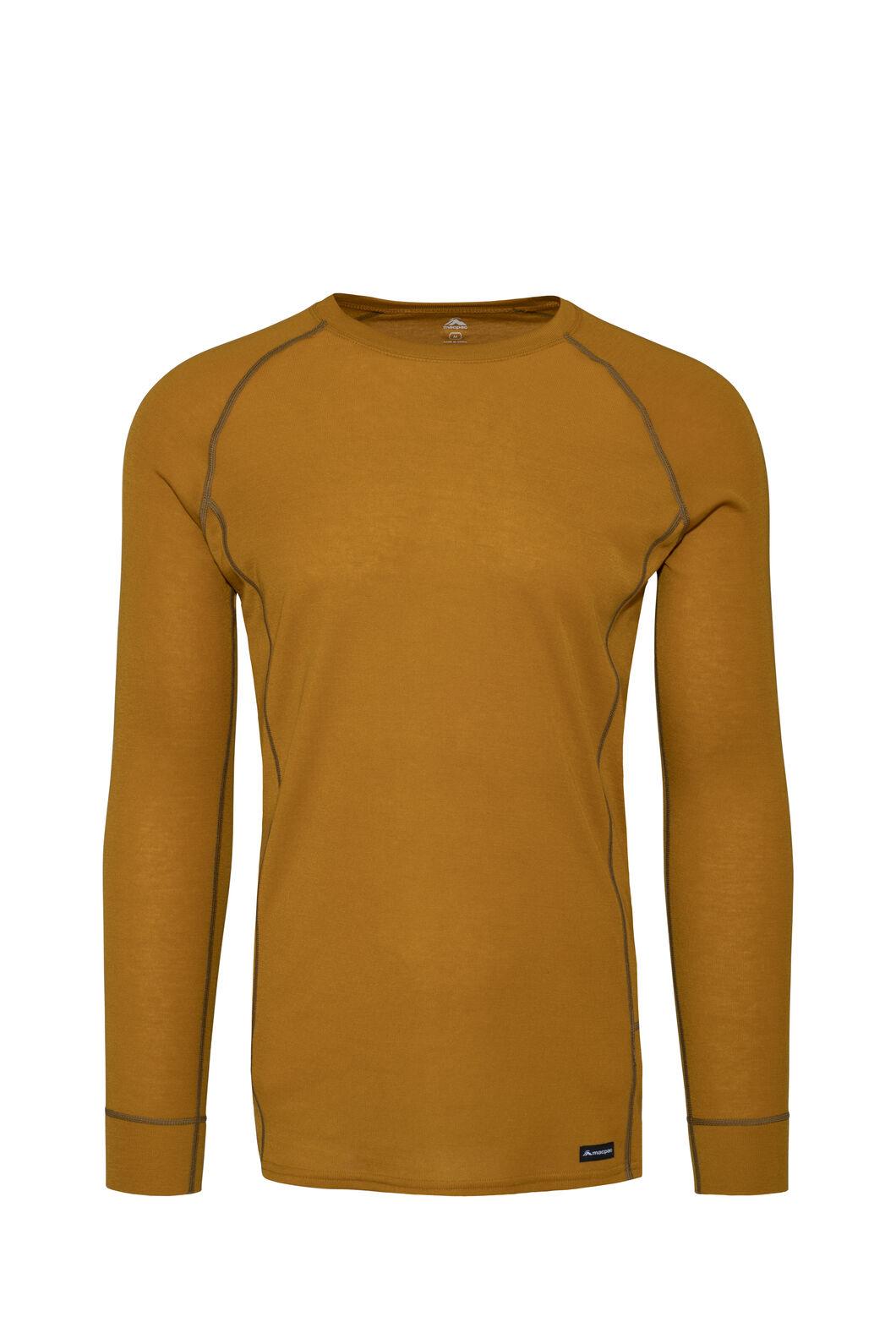 Macpac Geothermal Long Sleeve Top — Men's, Inca Gold, hi-res