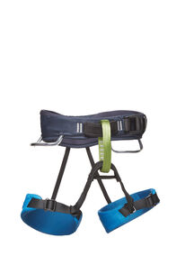 Black Diamond Momentum Harness - Kids', Dark Blue, hi-res