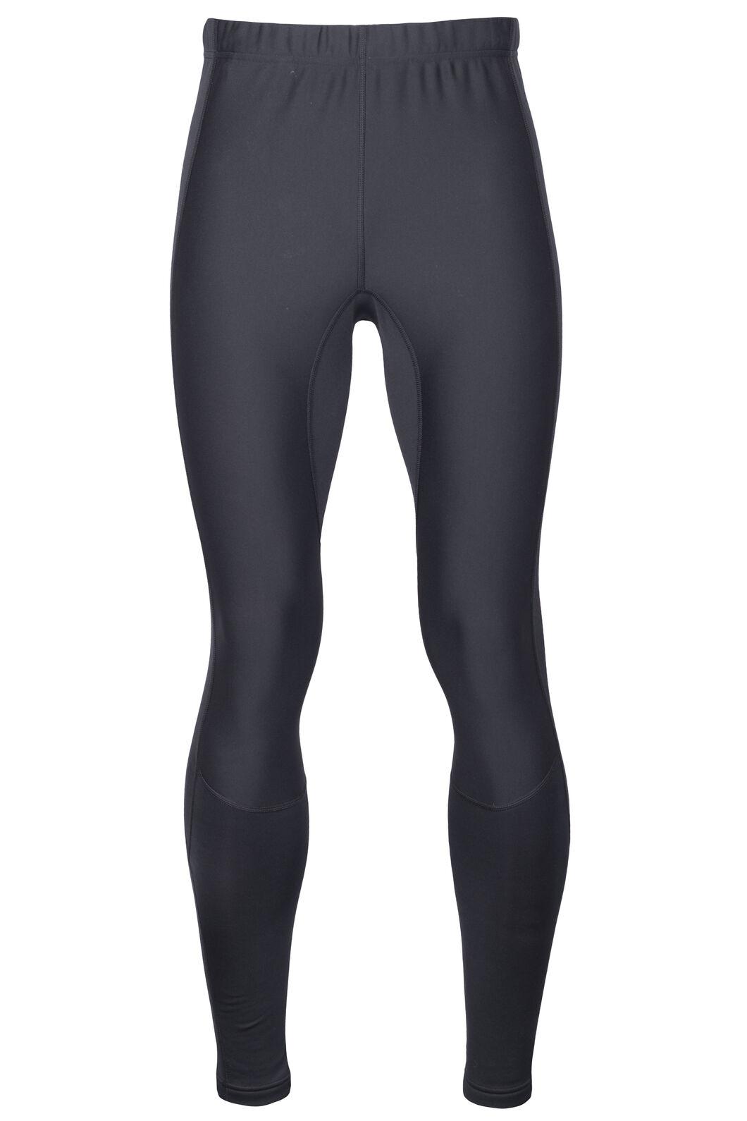 Macpac Traverse Fleece Tights - Men's, Black, hi-res
