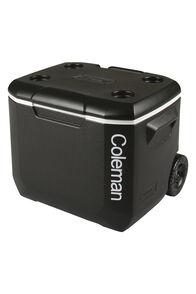 Coleman Wheeled Cooler — 57 L, Black/Grey, hi-res