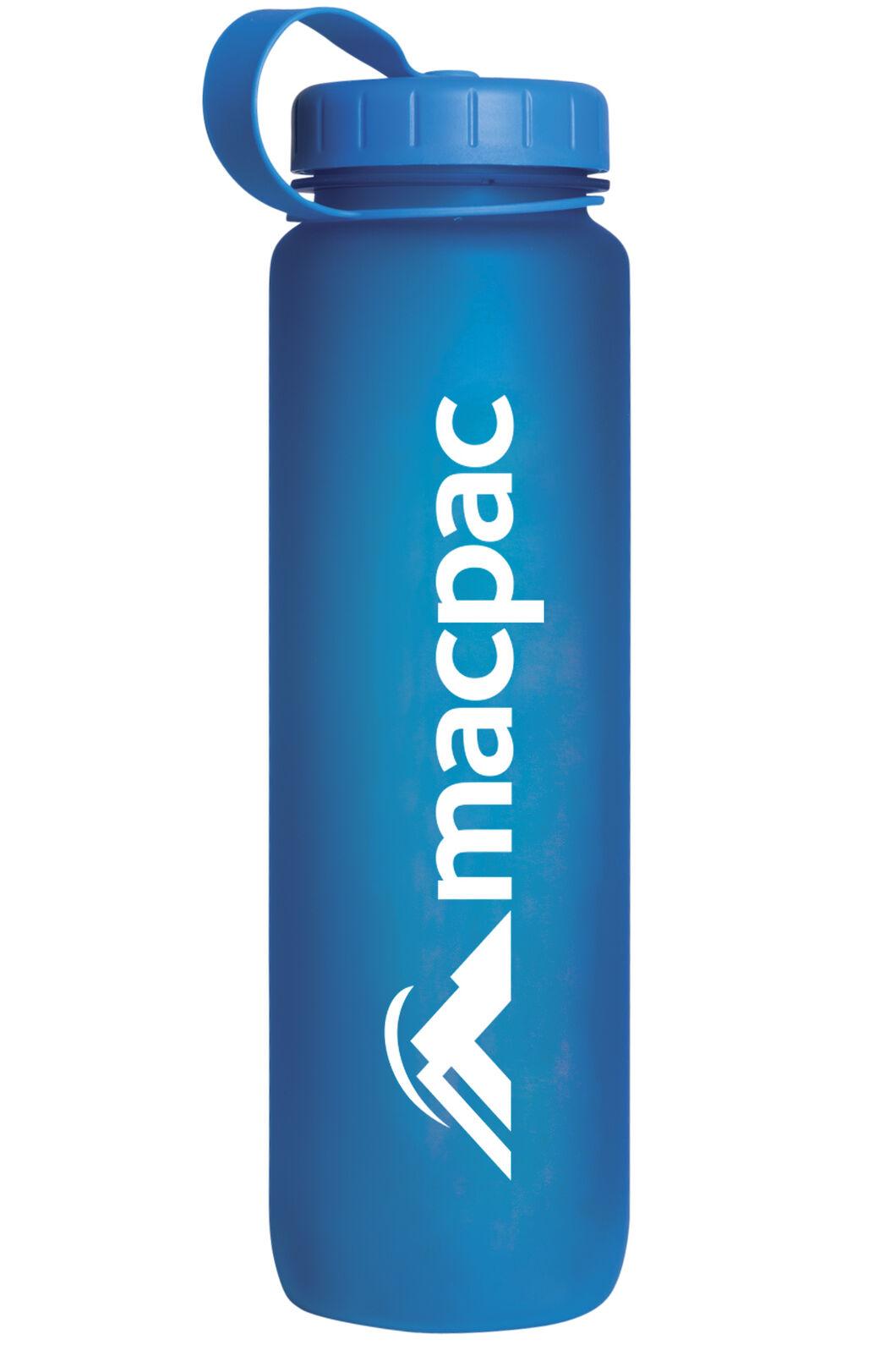 Soft Touch Water Bottle 1L, Blue, hi-res