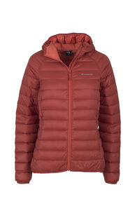 Macpac Uber Light Hooded Jacket - Women's, Red Ochre, hi-res