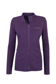 Macpac Tennyson 320 Merino Jacket — Women's, Blackberry Wine, hi-res